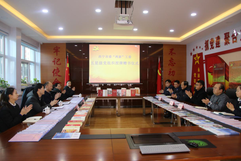 青越集团党支部荣获五星级党组织荣誉